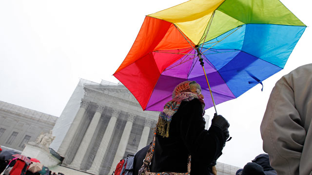 Justices Appear Skeptical of Federal Right to Gay Marriage