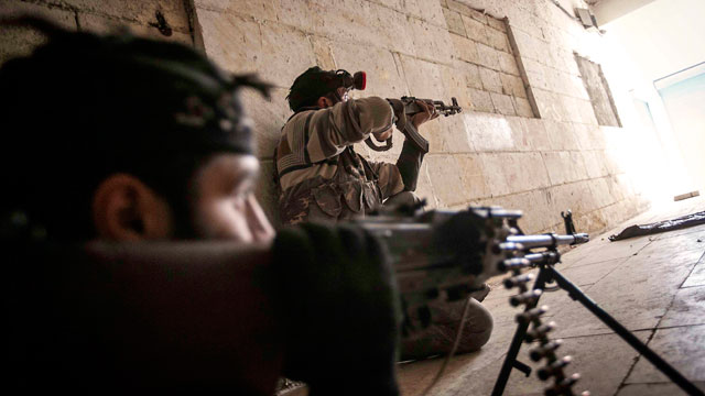 PHOTO: Free Syrian Army