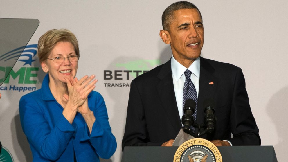 Elizabeth Warren: I'm 'troubled' by Obama's $400,000 speaking fee