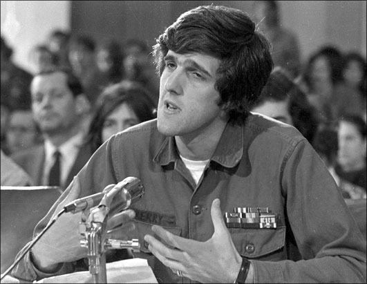 Kerry Testifying