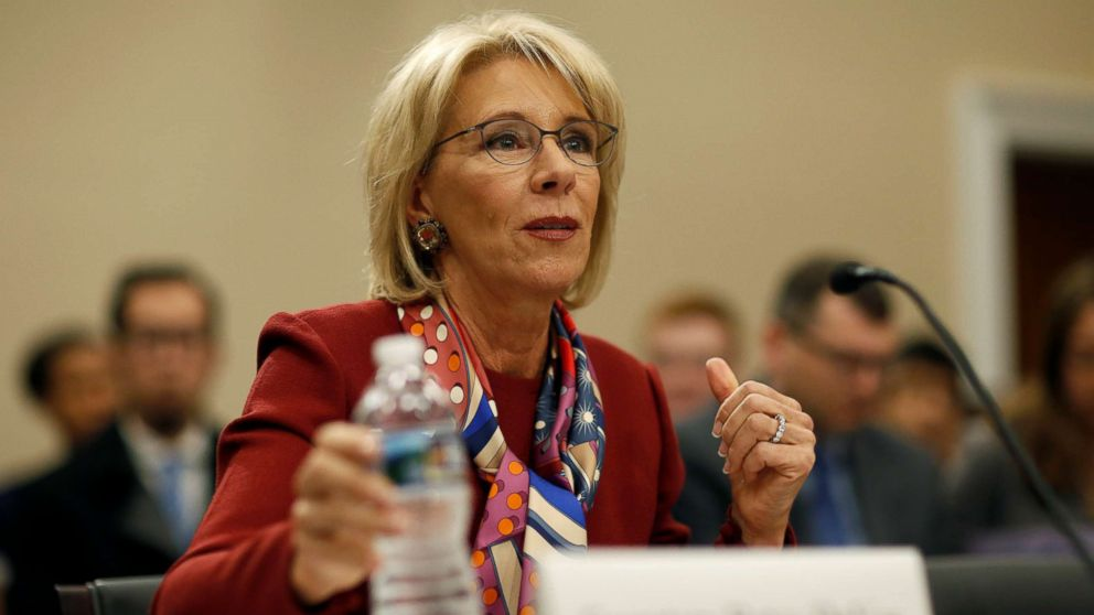 School safety commission to meet 'very soon,' DeVos says