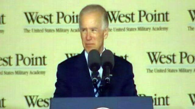 VIDEO: The vice president offers words of wisdom to the graduating class of 2012.