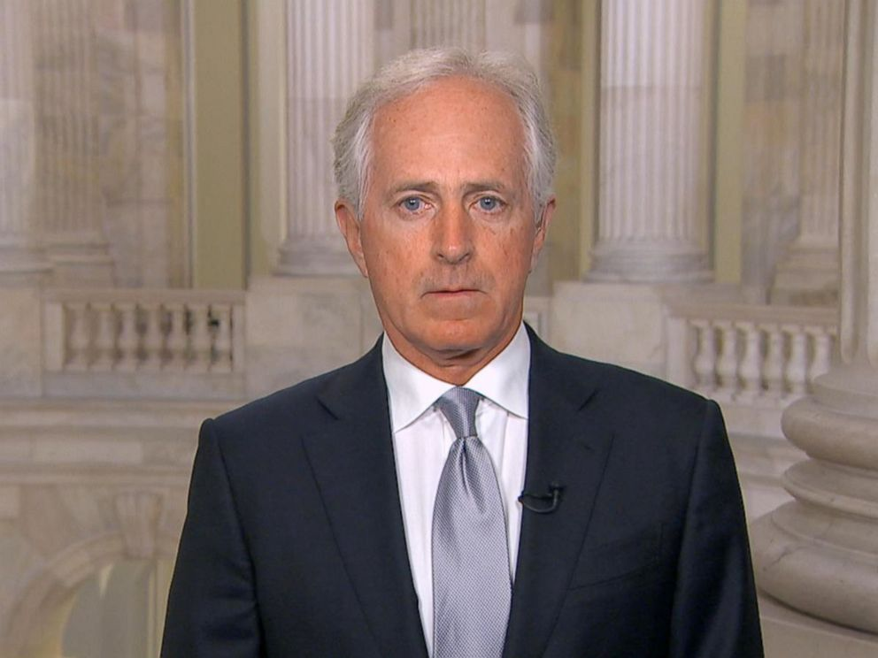 PHOTO: Senator Bob Corker speaks toGood Morning America, Oct. 24, 2017.