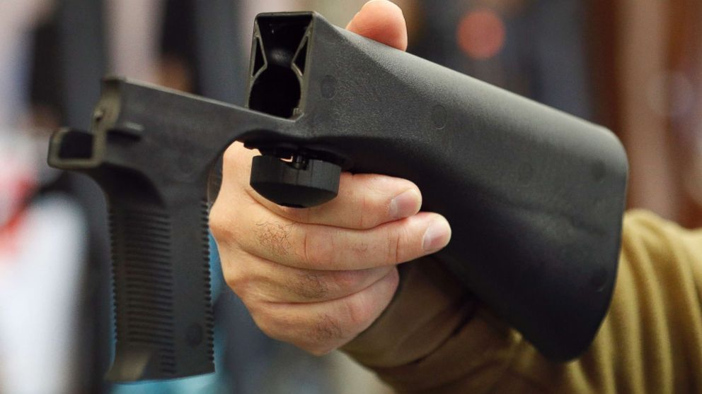 Gun-control group sues makers, sellers of 'bump stock' device used in Vegas massacre
