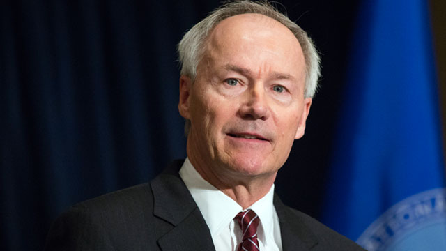 PHOTO: Former U.S. Rep. Asa Hutchinson was named the head of a National Rifle Associations effort to push for armed officers in the nations schools.