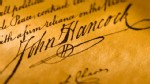 PHOTO: John Hancock's signature