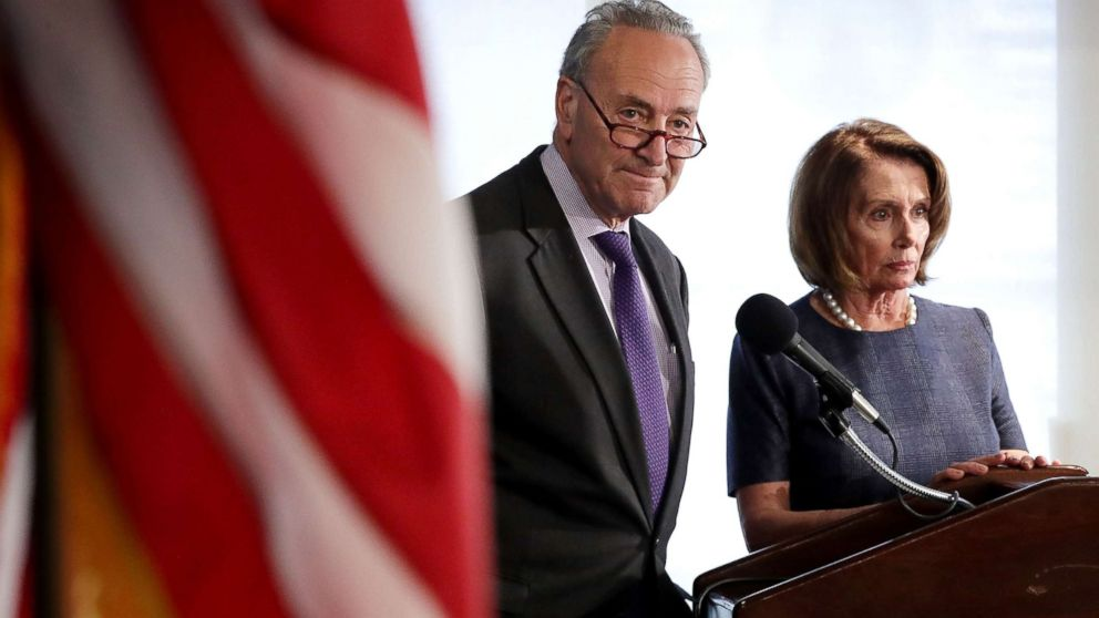 What President Trump has said about Chuck Schumer and Nancy Pelosi