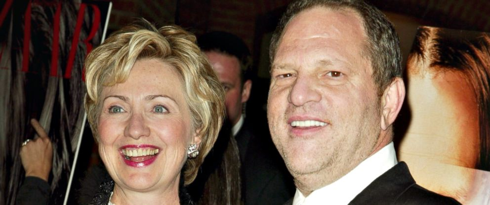 Image result for harvey weinstein and hillary clinton