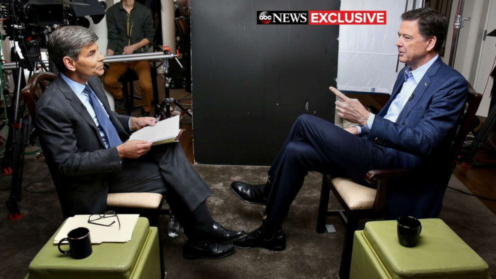 Transcript: James Comey's interview with ABC News chief anchor George Stephanopoulos