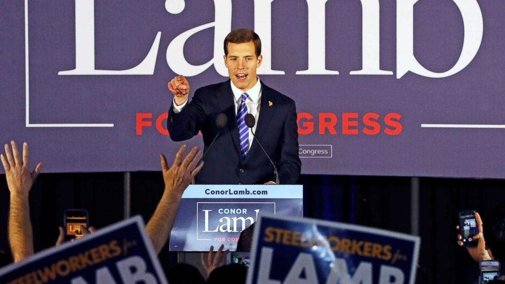 Conor Lamb, Rick Saccone to run again in November in new and different congressional districts