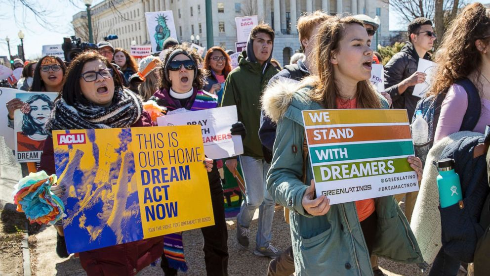 White House fights federal judge's ruling that DACA protections must continue