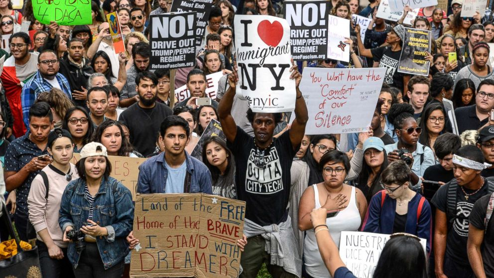 Thousands of Dreamers could lose protection as DACA deadline arrives