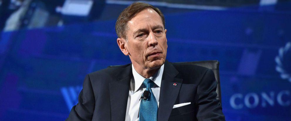 PHOTO: Former Director, Central Intelligence Agency Gen. (Ret.) David H. Petraeus speaks at the 2016 Concordia Summit - Day 1 at Grand Hyatt New York, Sept. 19, 2016 in New York City.