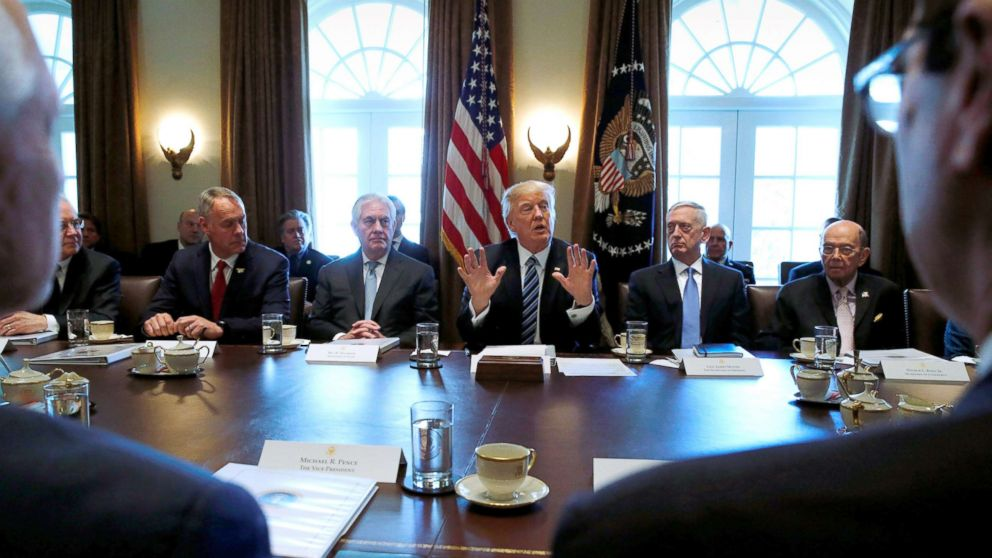 Trump Cabinet members who have faced questions over spending