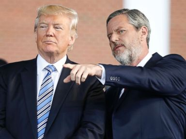 Trump has 'inside information' on who protested in Charlottesville: Falwell Jr.