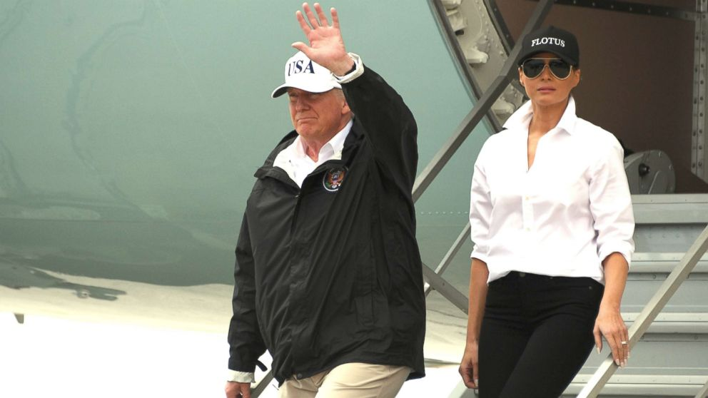 Trump returning to Texas to meet with Harvey survivors