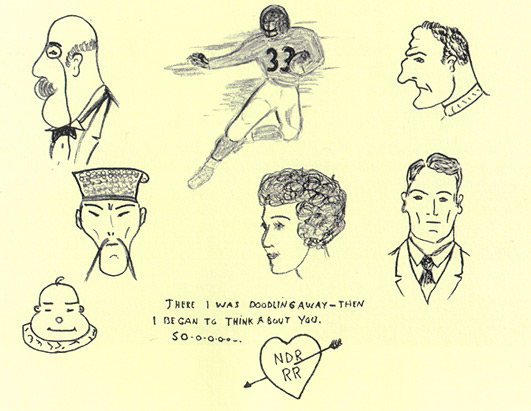 Presidential Doodles