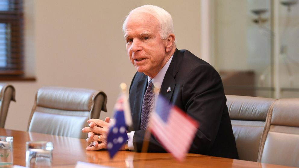 Sen. John McCain: Putin the 'most important threat, more so than ISIS'