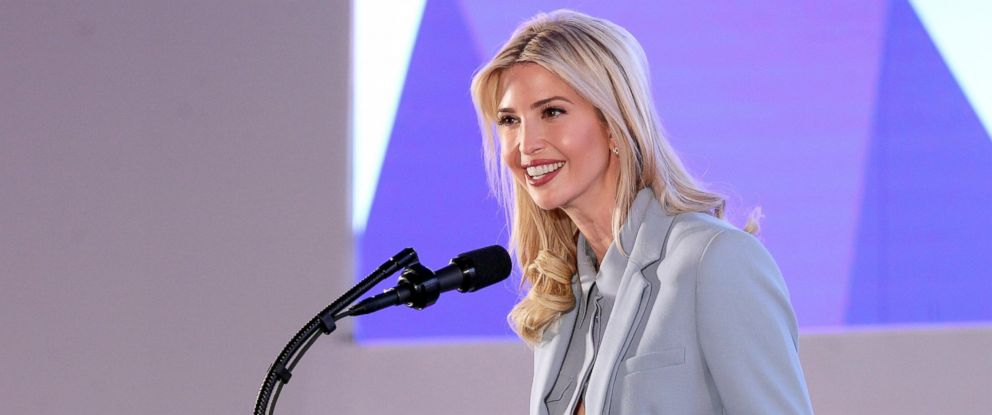 PHOTO: President Donald J. Trumps assistant and daughter Ivanka Trump, speaks at the Tweeps 2017 social media forum in Riyadh, Saudi Arabia, May 21, 2017.
