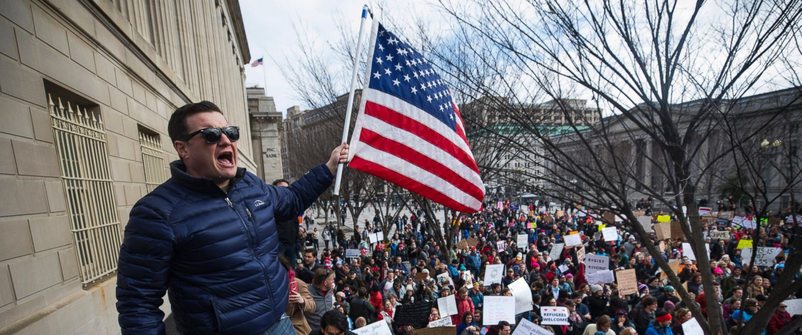 Protests Build Across the Country Against Trump's ...