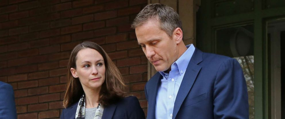 Eric Greitens >> Missouri Governor S Ambitions Could Take A Hit In Cheating Scandal