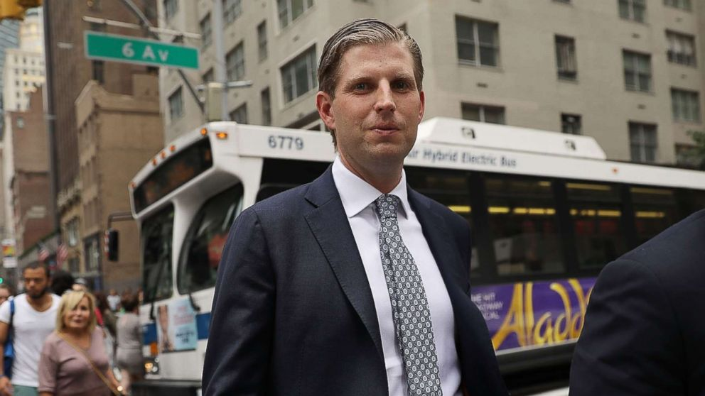 Eric Trump : 'Shooting was a big part of my youth'