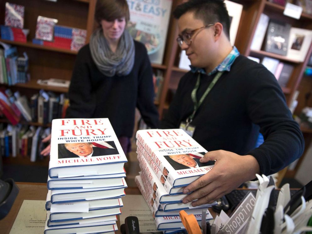 Image result for Fire and fury book and  publisher images