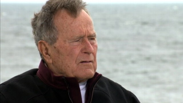 VIDEO: The 88-year-old former president has been in the Dallas hospital since Nov. 23.