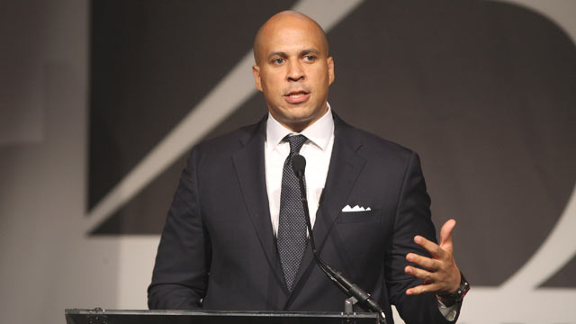 PHOTO: Honoree Cory Booker, Mayor of Newark attends the 2011 Emery Awards at Cipriani, Wall Street on Nov. 10, 2011 in New York, City.