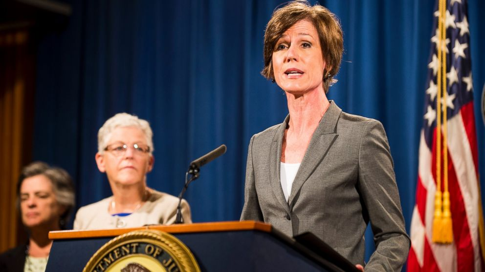 everything you need to know about former acting attorney general sally yates - Attorney General Job Description