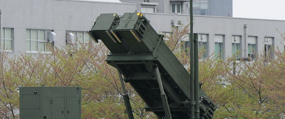 PHOTO: A Patriot Advanced Capability-3 missile interceptor unit deployed in the premises of the Defense Ministry in Tokyo, April 9, 2013.