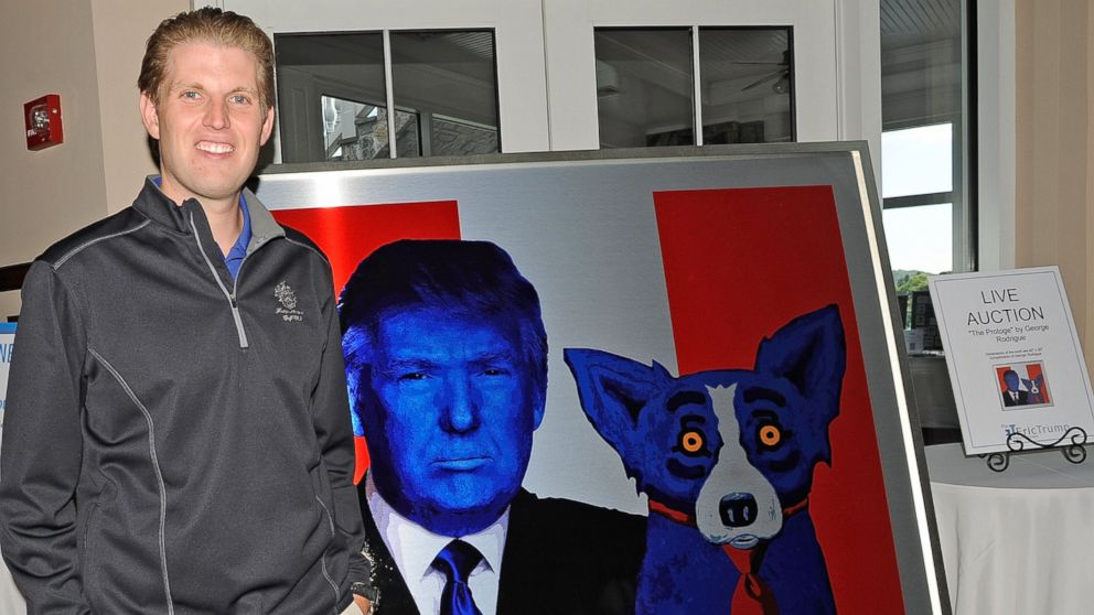 Eric Trump Goes Off On His Father's Critics: 'They're Not Even People'