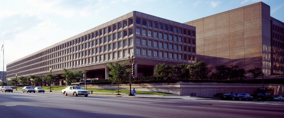PHOTO: The James Forrestal Building, headquarters of the U.S. Department of Energy is pictured on Independence Avenue, Washington, D.C. on Sept. 10, 2011.