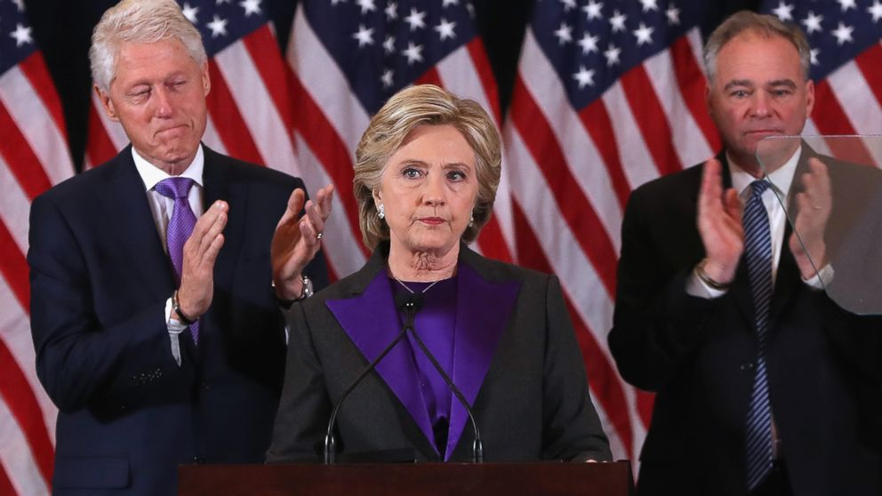 clinton speech Watch video hillary clinton delivered a concession speech in nyc on wednesday, november 9, hours after donald trump won the presidential election — watch the video.