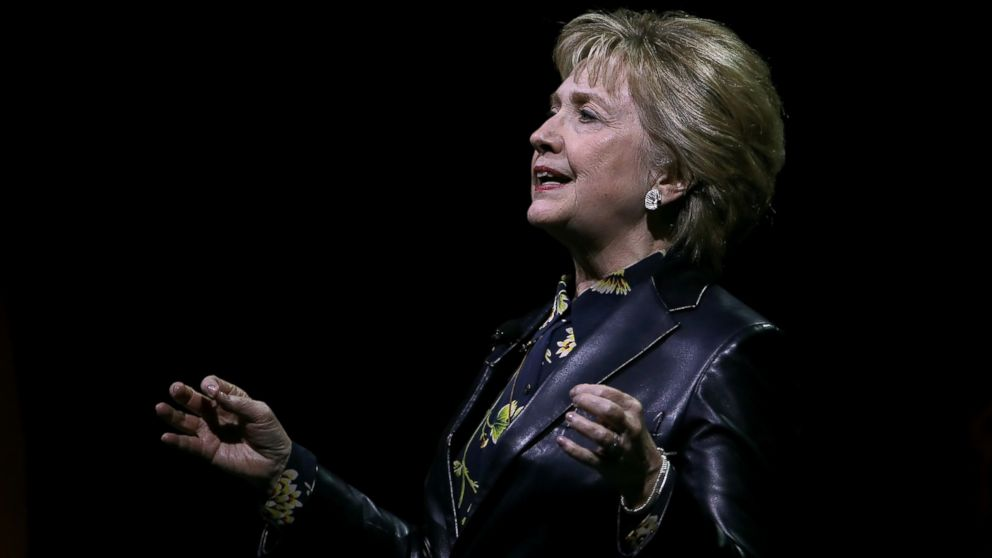 Clinton hits Trump administration on gender diversity