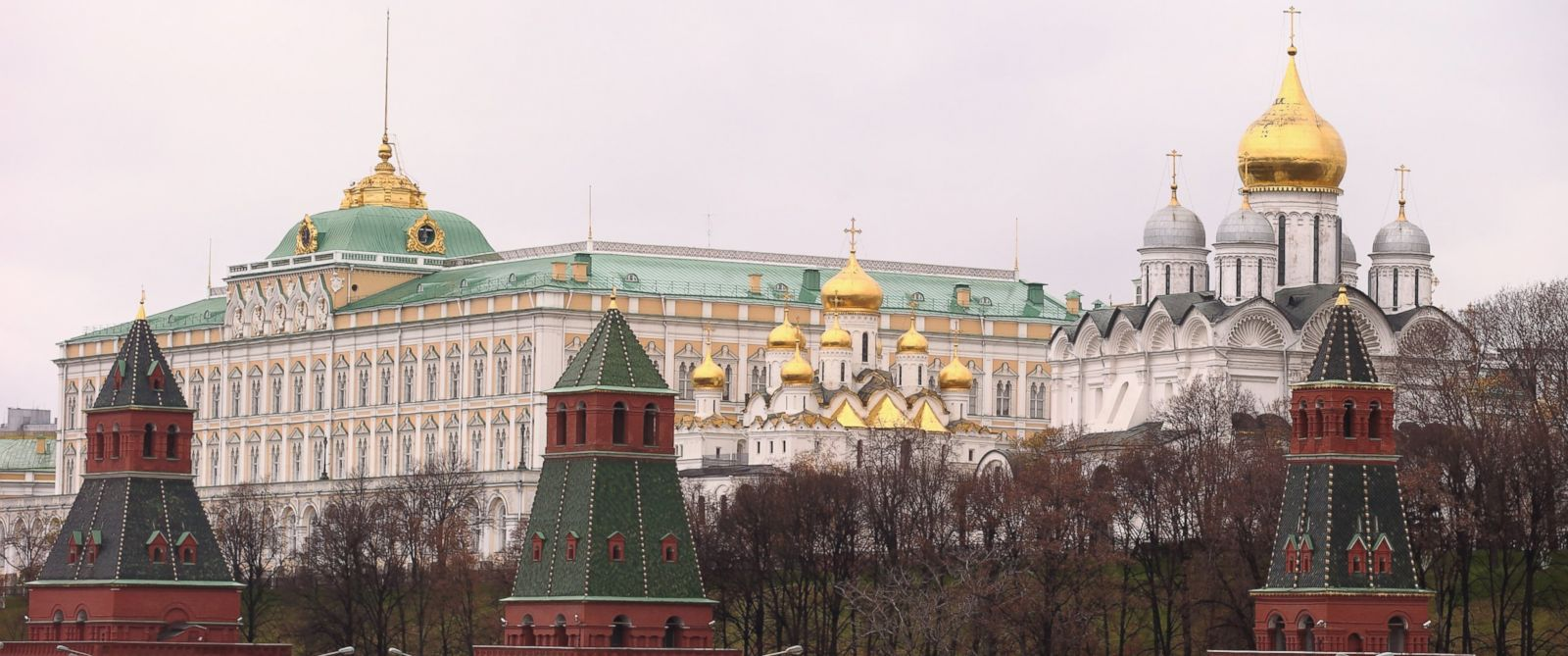 PHOTO: The Kremlin is pictured on Oct. 31, 2013 in Moscow.