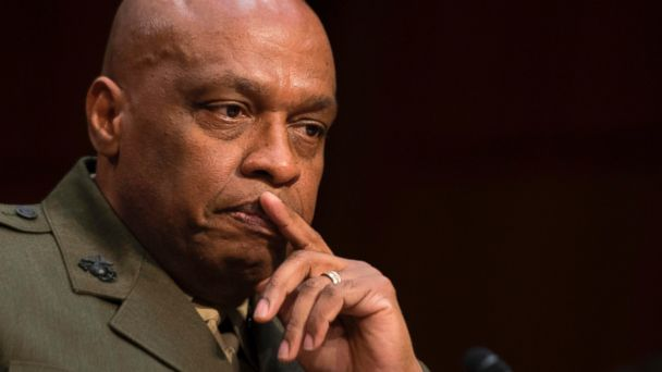 PHOTO: Defense Intelligence Agency Director Lt. Gen. Vincent Stewart testifies before the Senate Intelligence Committee on Capitol Hill in Washington, D.C., May 11, 2017.