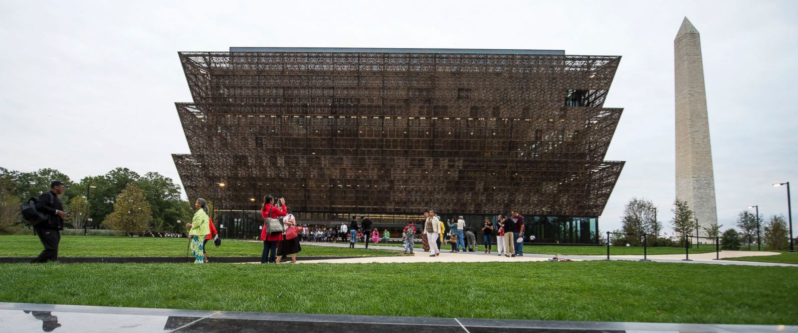 PHOTO: The National Museum of African American History & Culture is seen from Constitution Avenue, Sept. 26, 2016, in Washington.