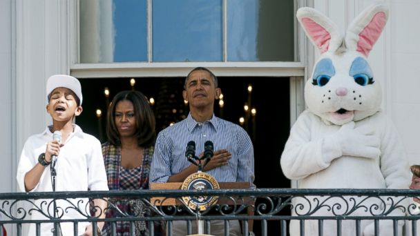 gty Cam Anthony anthem wy 140421 16x9 608 7 Moments of Extreme Cuteness At Annual White House Easter Egg Roll