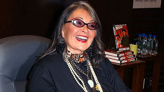 "PHOTO: Roseanne Barr signs copies of her new book ""Roseannearchy"" at Barnes & Noble bookstore, Jan. 10, 2011 in Los Angeles, California."