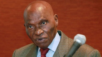 PHOTO: President of Senegal, Abdoulaye Wade is seen in this September 24, 2010 in New York City.