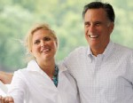 PHOTO: Republican presidential candidate, former Massachusetts Gov. Mitt Romney and his wife, Ann Romney, during a campaign event aboard the Spirit of Dubuque on June 18, 2012.