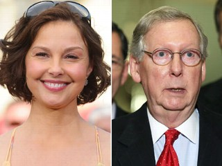 Was McConnell's Staff Dirt-Digging on Ashley Judd?