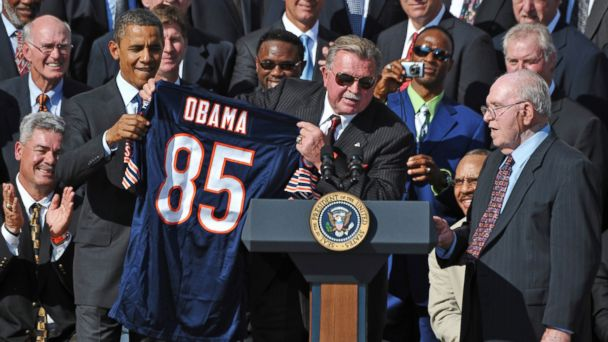 gty barack obama mike ditka ll 131011 16x9 608 Mike Ditka on the Biggest Mistake Ive Ever Made: Not Running Against Obama