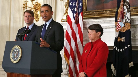 gty barack obama richard cordray mary jo white ll 130124 wblog Nightline Daily Line, Jan. 25: The Google Diet