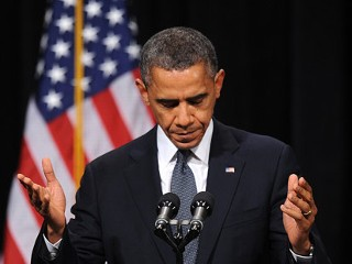 Obama Takes Gun Control Push to Ct.