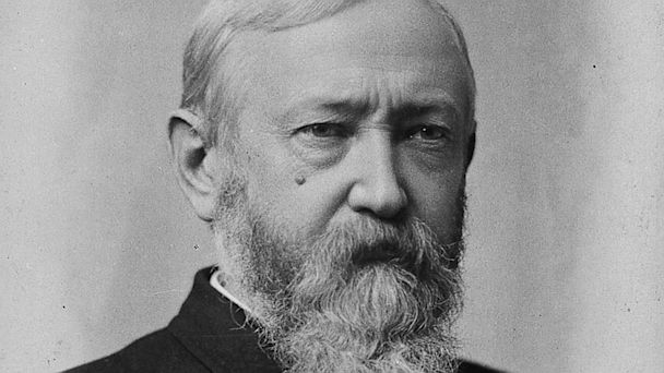 PHOTO: Benjamin Harrison was the 23rd President of the United States.