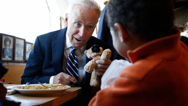 gty biden diner kb 140326 16x9 608 Joe Biden, Four Slices of Apple Pie and (Maybe) a Glimpse of the Future