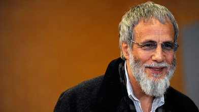 "PHOTO: Yusuf Islam (Cat Stevens) at the launch of the Musical ""Moonshadow"" on April 24th 2012, in Melbourne Australia."