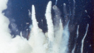 PHOTO: The space shuttle Challenger (STS-51L) explodes 73 seconds after take-off from the Kennedy Space Center, Florida, claiming the lives of its seven crew members, Jan. 28, 1986.
